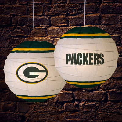 Green Bay Packers Nfl 18 Quot Rice Paper Lamp