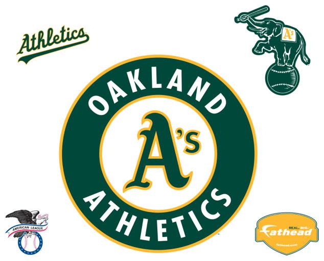 Oakland A S Athletics Logo Fathead Mlb Wall Graphic