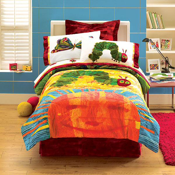 Hungry Caterpillar By Eric Carle Full Sheet Set Zoom