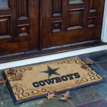 Dallas Cowboys Nfl Rectangular Outdoor Door Mat