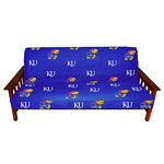 Kansas Jayhawks Full Size Futon Cover