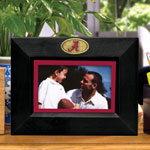 "Alabama Crimson Tide NCAA College 8"" x 10"" Black Horizontal Picture Frame"