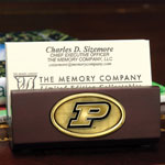 Purdue Boilermakers NCAA College Business Card Holder