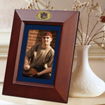 "Auburn Tigers NCAA College 10"" x 8"" Brown Vertical Picture Frame"