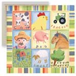 Barnyard Buddies I - Framed Canvas