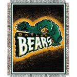"Baylor Bears NCAA College ""Focus"" 48"" x 60"" Triple Woven Jacquard Throw"