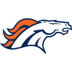 Denver Broncos Logo Fathead Nfl Wall Graphic