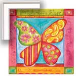Way Cool Butterfly - Contemporary mount print with beveled edge