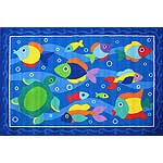 "Something Fishy Rug (19"" x 29"")"