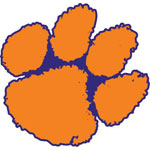 Clemson University Logo Fathead NCAA Wall Graphic