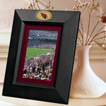 "Arizona Cardinals NFL 10"" x 8"" Black Vertical Picture Frame"