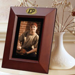 "Purdue Boilermakers NCAA College 10"" x 8"" Brown Vertical Picture Frame"