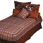 "Derby ""Hugger"" Comforter - Plaid"