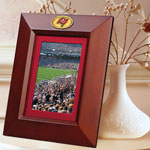 "Tampa Bay Buccaneers NFL 10"" x 8"" Brown Vertical Picture Frame"