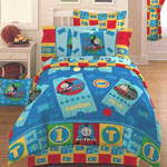 Thomas Ticket to Ride Twin Comforter / Sheet Set