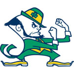 Notre Dame Fighting Irish Resized Logo Fathead NCAA Wall Graphic