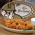 "Purdue Boilermakers NCAA College 12"" Gameday Ceramic Oval Platter"