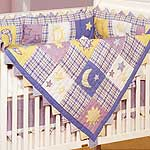 Twinkle, Twinkle 4 Piece Crib Quilt Set