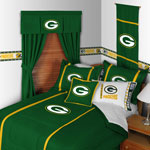 Green Bay Packers MVP Comforter / Sheet Set