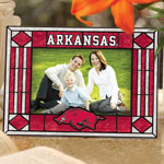 "Arkansas Razorbacks NCAA College 6.5"" x 9"" Horizontal Art-Glass Frame"