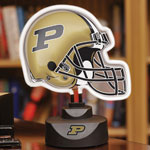 Purdue Boilermakers NCAA College Neon Helmet Table Lamp