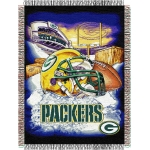 "Green Bay Packers NFL ""Home Field Advantage"" 48"" x 60"" Tapestry Throw"