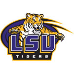 LSU Resized Logo Fathead NCAA Wall Graphic