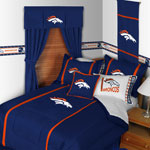 Denver Broncos MVP Window Valance