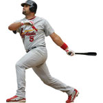 Albert Pujols Fathead MLB Wall Graphic