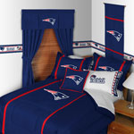 New England Patriots Mvp Bed Skirt Jpg