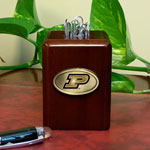 Purdue Boilermakers NCAA College Paper Clip Holder