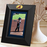 "Atlanta Braves MLB 10"" x 8"" Black Vertical Picture Frame"