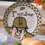 "Purdue Boilermakers NCAA College 11"" Gameday Ceramic Plate"