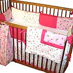 Fly Away Four Piece Crib Set