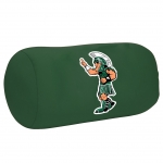 "Michigan State Spartans NCAA College 14"" x 8"" Beaded Spandex Bolster Pillow"