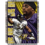 "Ray Lewis NFL ""Players"" 48"" x 60"" Tapestry Throw"