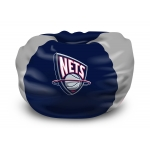 "New Jersey Nets NBA 102"" Cotton Duck Bean Bag"