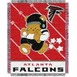 "Atlanta Falcons NFL Baby 36"" x 46"" Triple Woven Jacquard Throw"