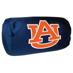 "Auburn Tigers NCAA College 14"" x 8"" Beaded Spandex Bolster Pillow"