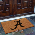 Alabama Crimson Tide NCAA College Rectangular Outdoor Flocked Door Mat