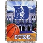 "Duke Blue Devils NCAA College ""Home Field Advantage"" 48""x 60"" Tapestry Throw"