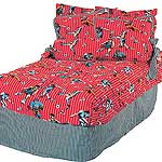 All Star Sports World Cup Red Crib Bed-In-A-Bag