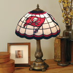 Tampa Bay Buccaneers NFL Stained Glass Tiffany Table Lamp