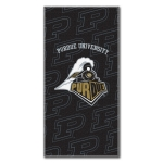 "Purdue Boilermakers College 30"" x 60"" Terry Beach Towel"