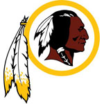 Washington Redskins Logo Fathead NFL Wall Graphic