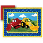 Building Trucks - Contemporary mount print with beveled edge