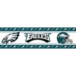 Philadelphia Eagles NFL Peel and Stick Wall Border