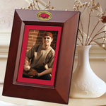 "Arkansas Razorbacks NCAA College 10"" x 8"" Brown Vertical Picture Frame"
