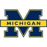 Michigan Blue Logo Fathead NCAA Wall Graphic