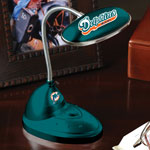 Miami Dolphins NFL LED Desk Lamp